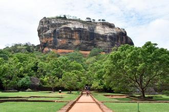 Lion's Rock Fortress in Sigiriya - a palace, a temple and more