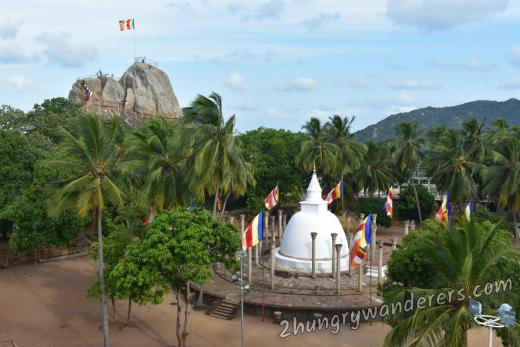 Mihintale - the cradle of Buddhism in Sri Lanka
